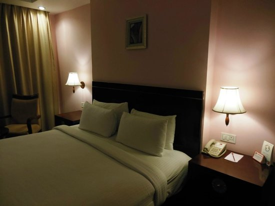 Clarks Inn Airport Hotel:                                     Bed Room