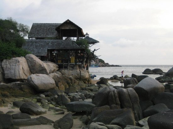 Sai Thong Resort & Spa:                   The Banana Rock Bar next door - perfect for sunsets and dinner.