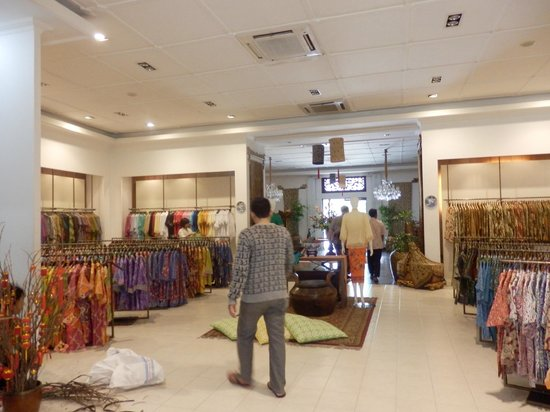 Some shirts   dresses in the shop - Picture of Museum Batik Danar ... cd16a5d8aa