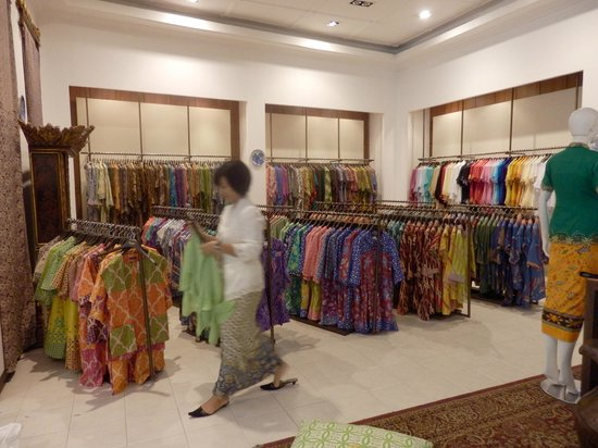 Museum Batik Danar Hadi  Some of the ready made shirts etc in the shop f3f37d9df9