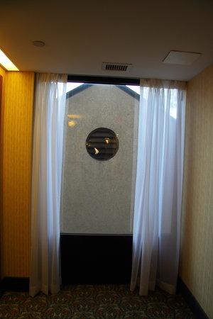 Hampton Inn Newport News-Yorktown: View from other Hall Window