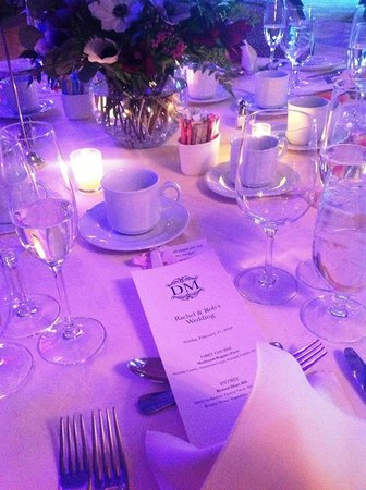 Diamond Mills Hotel : The Wedding Dinner