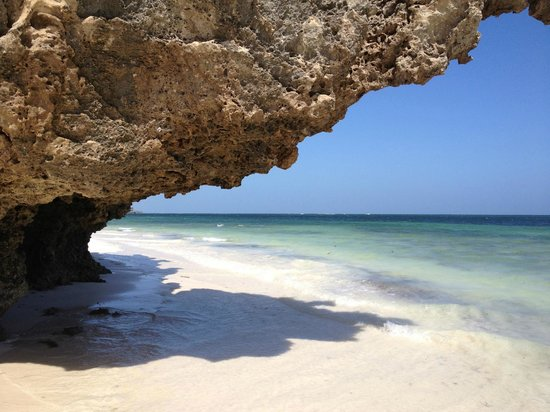 Wildfitness - Baraka House:                                     The beautiful beach on the Indian Ocean near Watamu