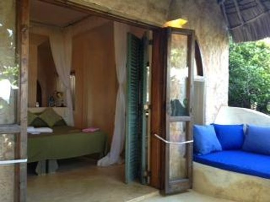 Wildfitness - Baraka House:                                     My room at Baraka House (#5) and veranda
