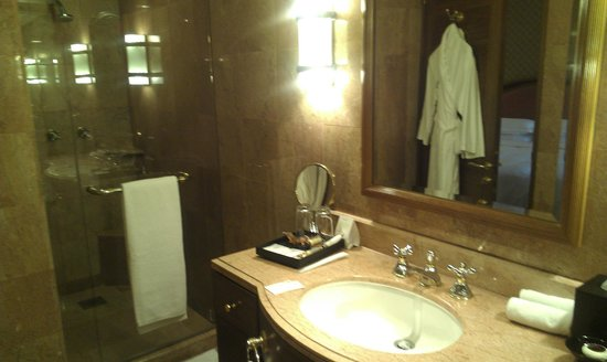 Sheraton Imperial Kuala Lumpur Hotel: bathroom stand-alone shower