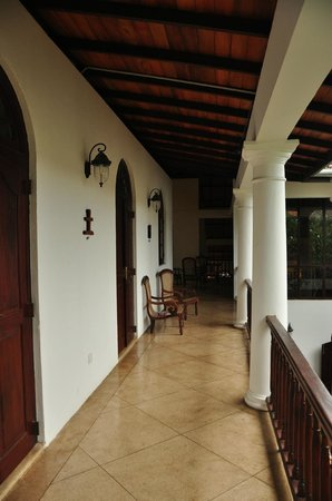 Galle Heritage Villa by Jetwing: just outside the upstairs guestrooms