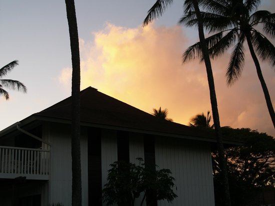 Kiahuna Plantation Resort:                   Castle Kiahuna at sunset                 