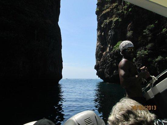 Aloha Ocean Adventures:                   One of the crew