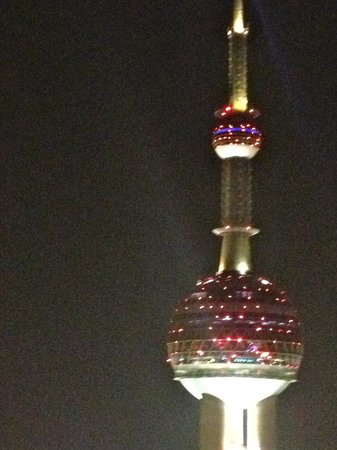 Flair Rooftop:                   View of pearl tower from deck.