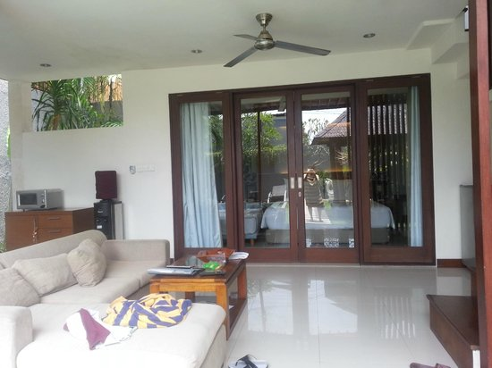 Grania Bali Villas:                   Level 1 Living Room - Just outside room, near pool