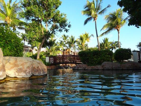 Hilton Mauritius Resort & Spa:                                     Vue partielle Piscine