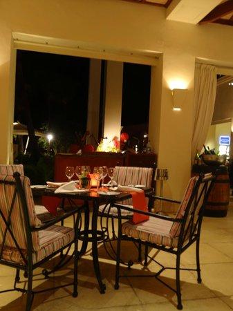 Hilton Mauritius Resort & Spa:                                     Vue partielle Salle à Manger