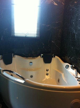 The BCC Hotel & Residence:                   Jacuzzi in the bathroom