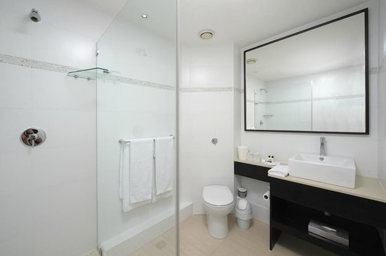 Paxton Hotel: Bathroom setup