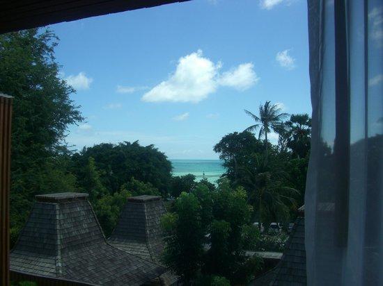 Baan Haad Ngam Boutique Resort & Villas:                   Aussicht vom Zimmer