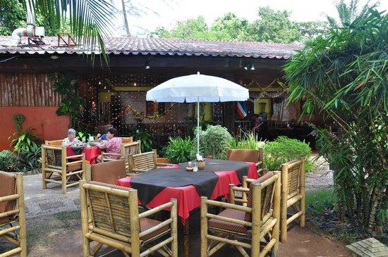 A.One Restaurant: outdoor setup