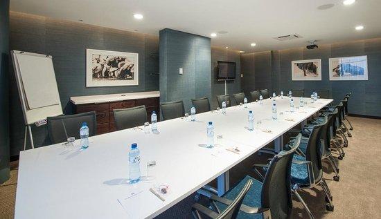 Paxton Hotel: Boardroom setup