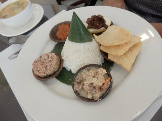 Soga Restaurant & Lounge: Nasi Soerakarta Hadininggrat, I think this was