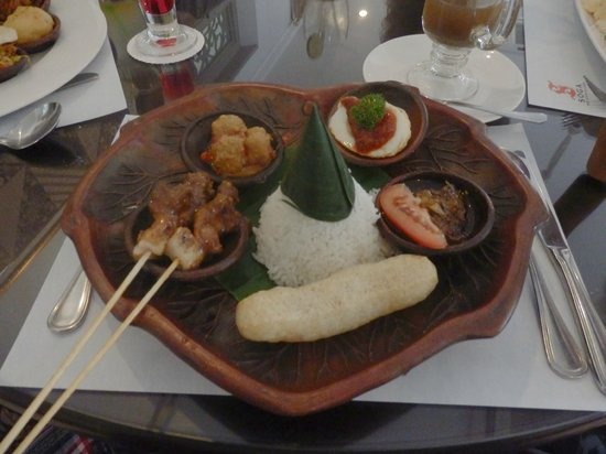 Soga Restaurant & Lounge: This was Nasi Andrawina I think
