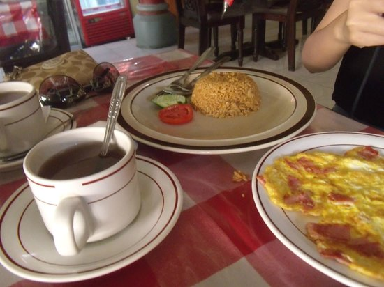 Bakung Sari Resort and Spa:                                     Breakfast rice set meal