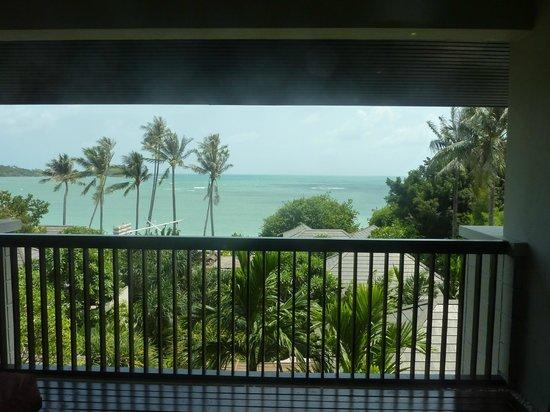 Sareeraya Villas & Suites:                   Gorgeous ocean view from the balcony.