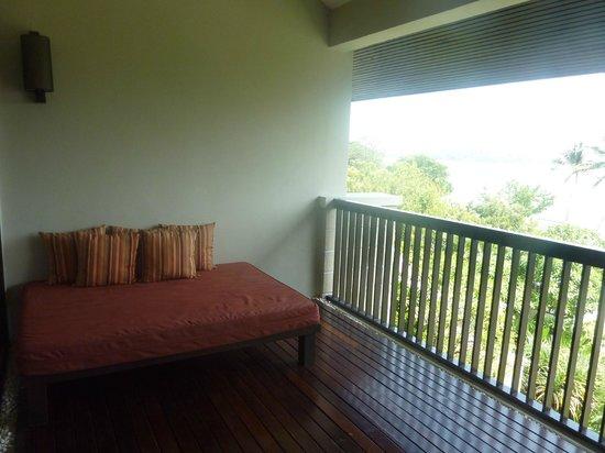 Sareeraya Villas & Suites:                   Suite balcony.