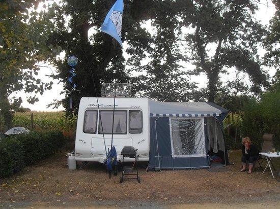 Pitch  Picture of Camping Le Bois Joli, BoisdeCene  ~ Camping Le Bois Joli
