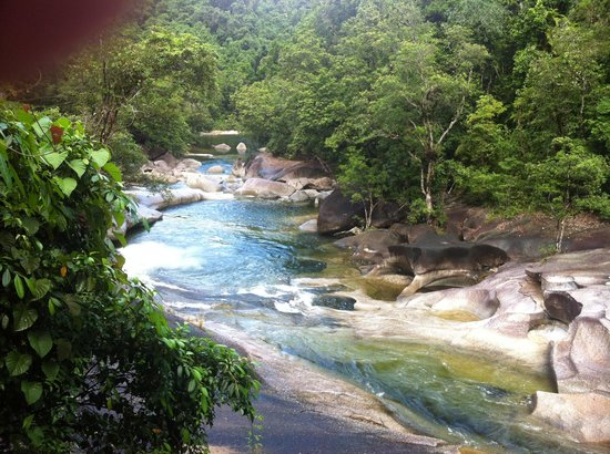 Cape Trib Connections - Day Tours:                                     Babinda Boulders/Devil's Pool