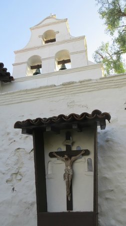 Mission San Diego de Alcala: In the gardens