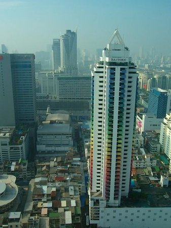Baiyoke Sky Hotel:                   view from the room
