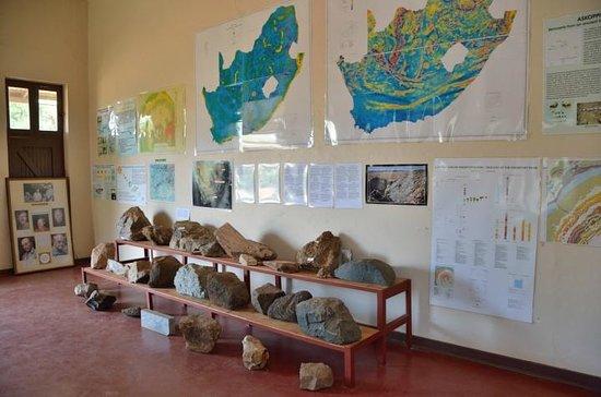 Vredefort Dome:                   Inside the Dome Information Centre