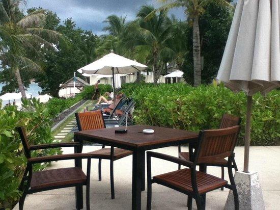 ibis Samui Bophut:                                     Terrasse déjeuner:)