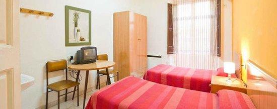 Hostal Antares: Habitación doble dos camas