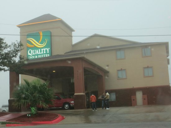 Quality Inn & Suites SeaWorld North:                   Front building