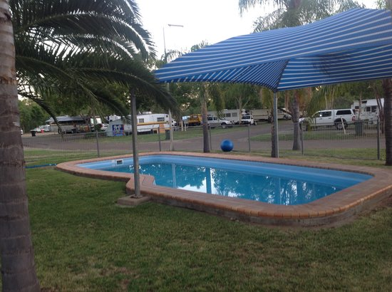 Moree, Australia: Salt water pool