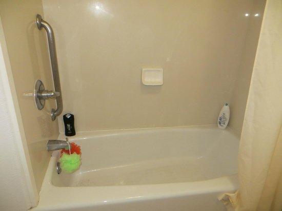 Quality Inn & Suites SeaWorld North :                   Tub