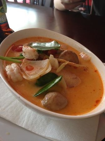 M Sports Bar and Restaurant:                   Tom yum Kung