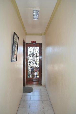 Palanca Guest House:                                     Fire Exit