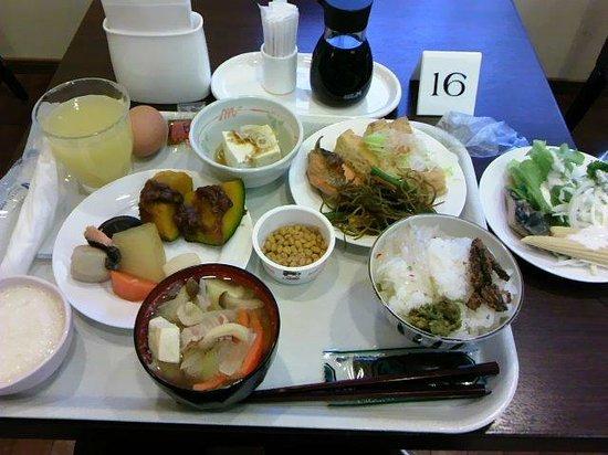 Hotel Hokke Club Nigata Nagaoka :                   朝食バイキング(1巡目 和食分)