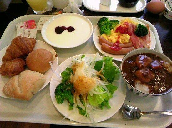 Hotel Hokke Club Nigata Nagaoka :                   朝食バイキング(2巡目 洋食分)
