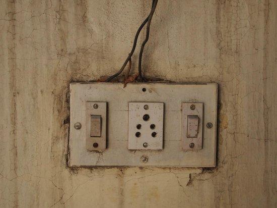 Naila Bagh Palace:                                     Installation électrique