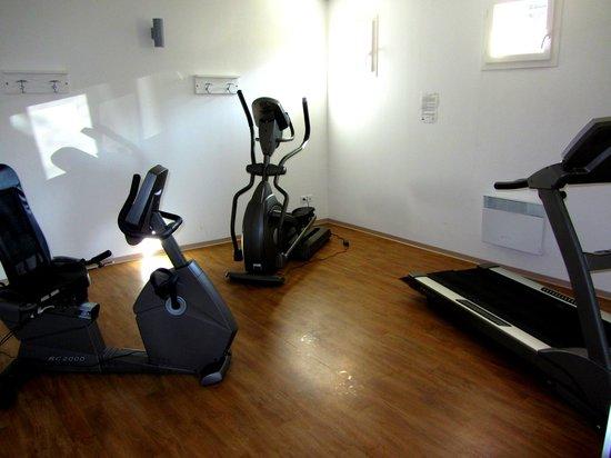 Résidence-Club Odalys Les Côteaux de Sarlat :                   Salle de fitness