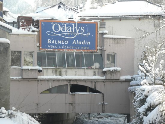 Hotel & Residence Balneo Aladin:                                     arrière hotel