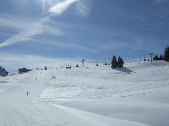 Hotel Le Sporting:                   Morzine Slopes