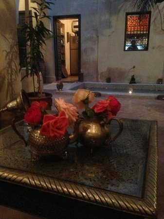 inside the Riad Cinnamon