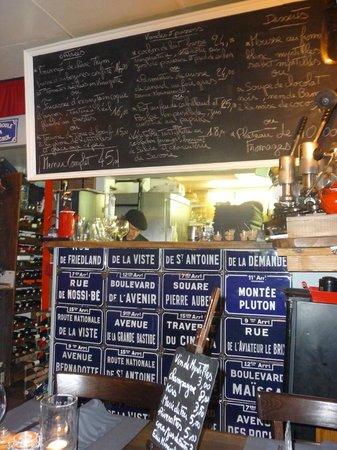Restaurant Clin d'Oeil :                   Bar