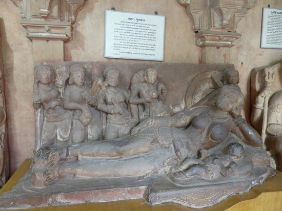 Gujari Mahal Archaeological Museum: sculpture
