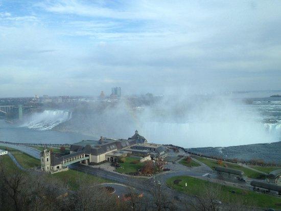 Niagara Falls Marriott Fallsview Hotel & Spa: Aussicht