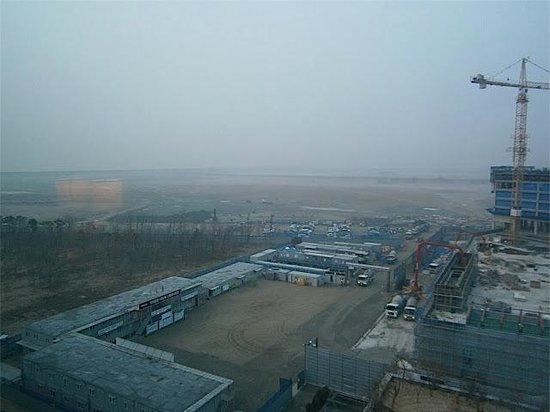 Grand Hyatt Incheon: Vue au loin de la digue et la mer du Japon