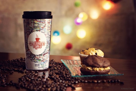 Fairview Coffee: mug